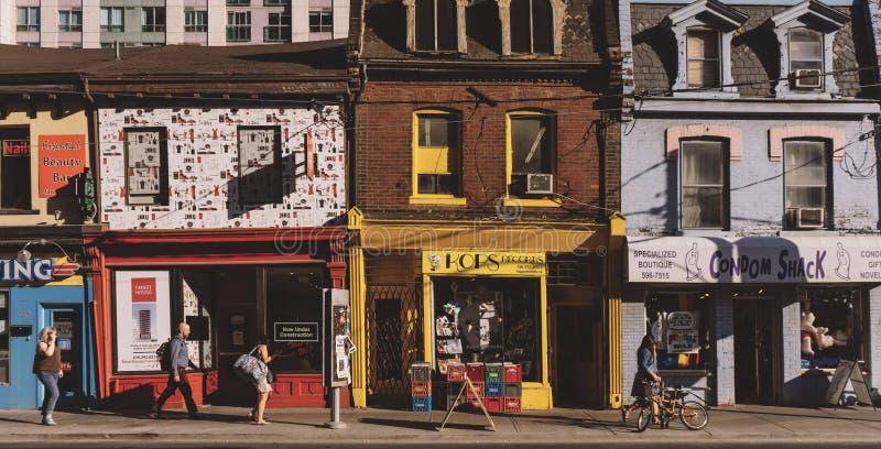 Toronto streets stock photography