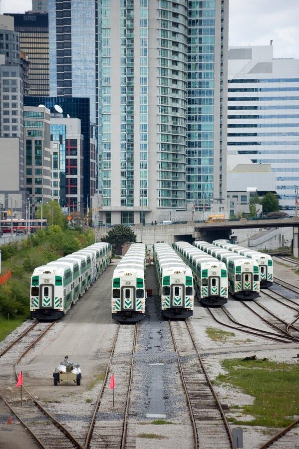 Download Toronto train depot stock image. Image of transportation - 14005045