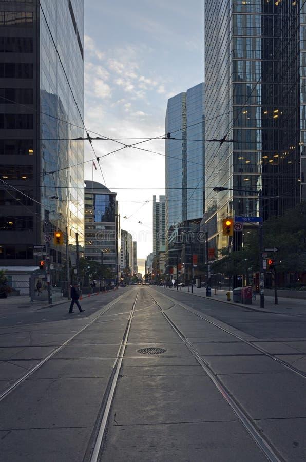 Toronto ulica zdjęcie royalty free