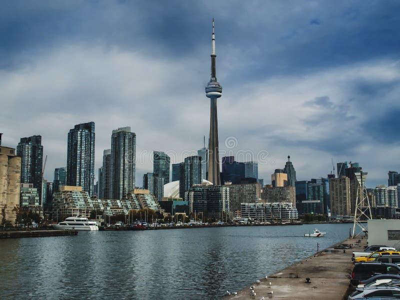 Toronto un jour nuageux photos libres de droits