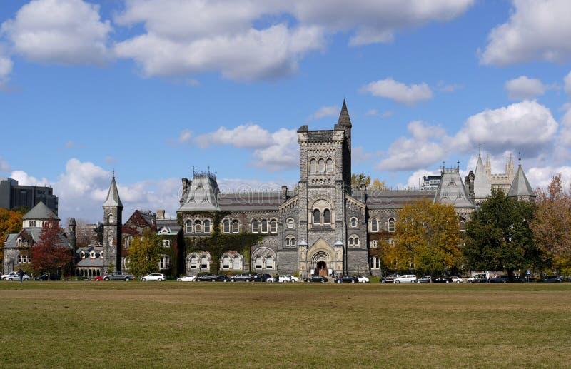 toronto uniwersytet zdjęcie royalty free