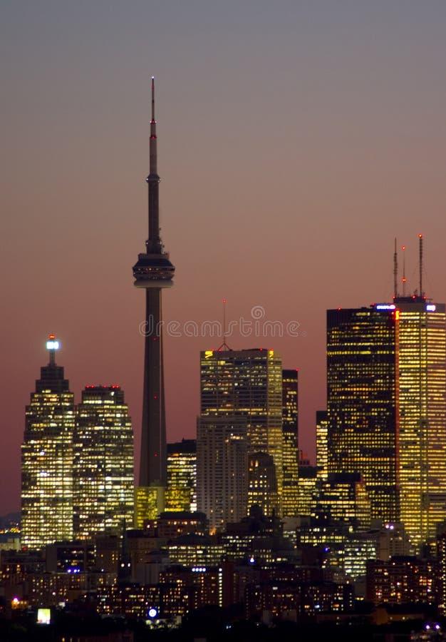 Toronto van de binnenstad royalty-vrije stock foto's