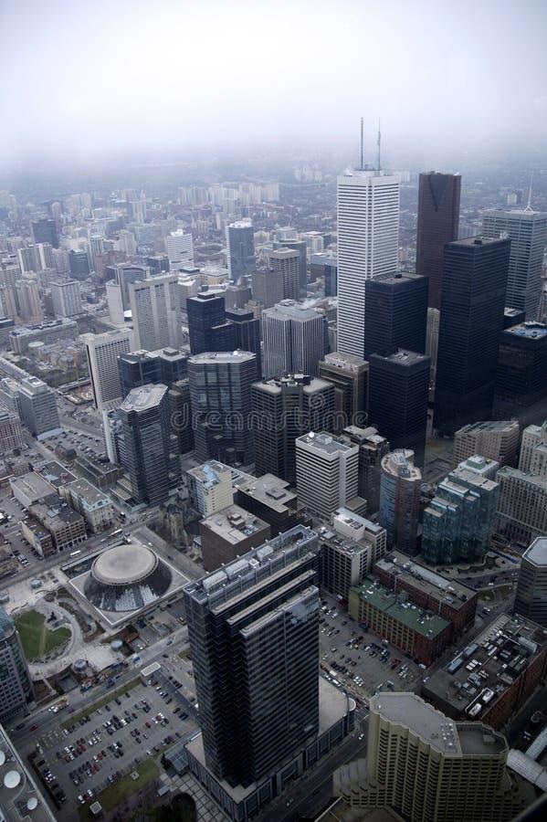 Toronto-Vertikale-Ansicht lizenzfreie stockfotografie