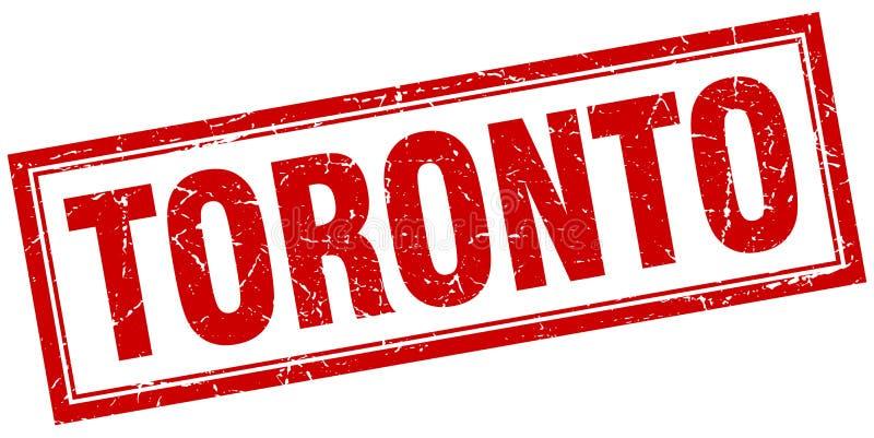 Toronto znaczek ilustracja wektor