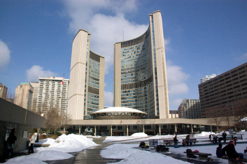 TorontoRathaus lizenzfreie stockfotos