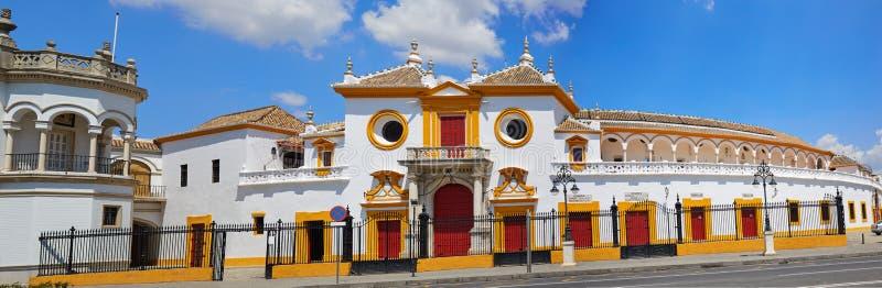 Toros Севилья площади арены Севильи Maestranza стоковое фото rf