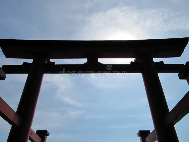 Toros en Japón fotografía de archivo libre de regalías