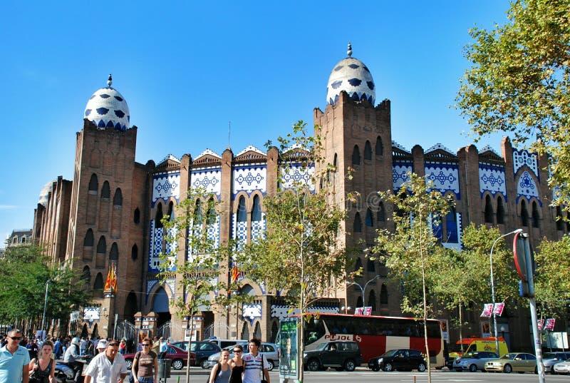 Toros Monumentaal in Barcelona royalty-vrije stock foto