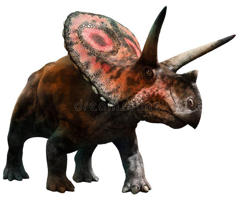 Torosaurus royalty ilustracja