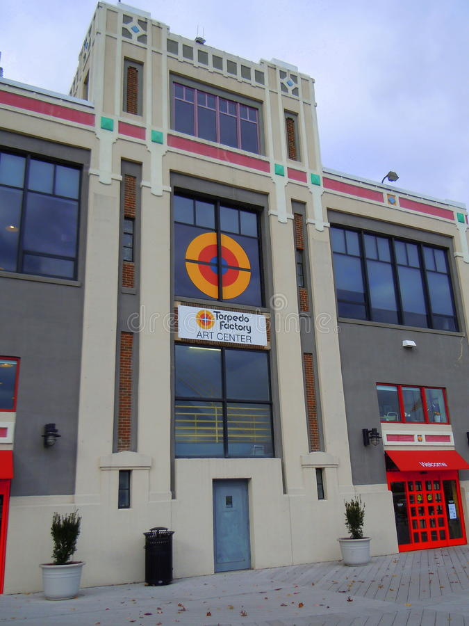 Torpedfabrik Art Center arkivbilder