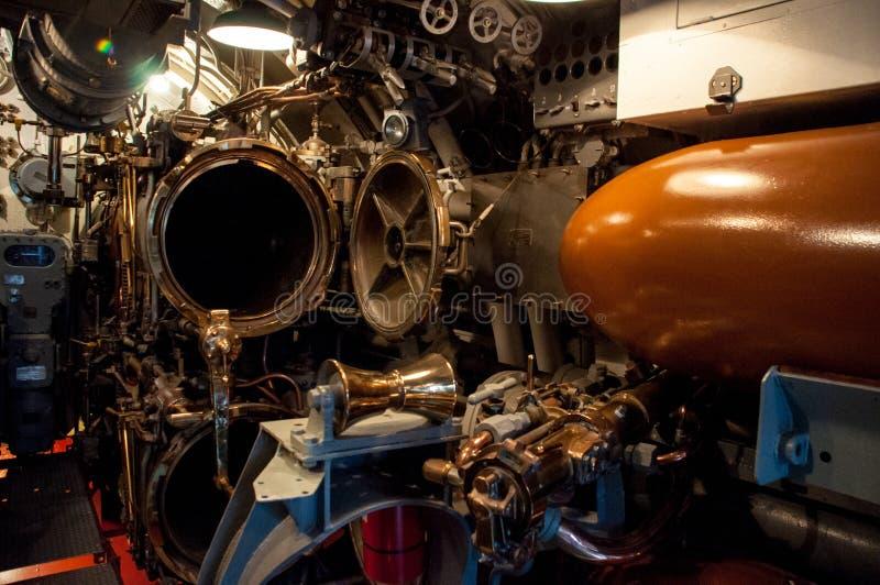 Torpedo-Raum lizenzfreie stockfotos