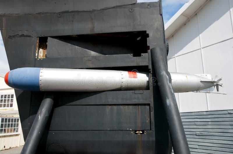 Torpille submersible images libres de droits