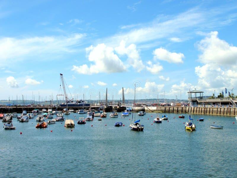 Torquay, Devon, Regno Unito immagini stock libere da diritti