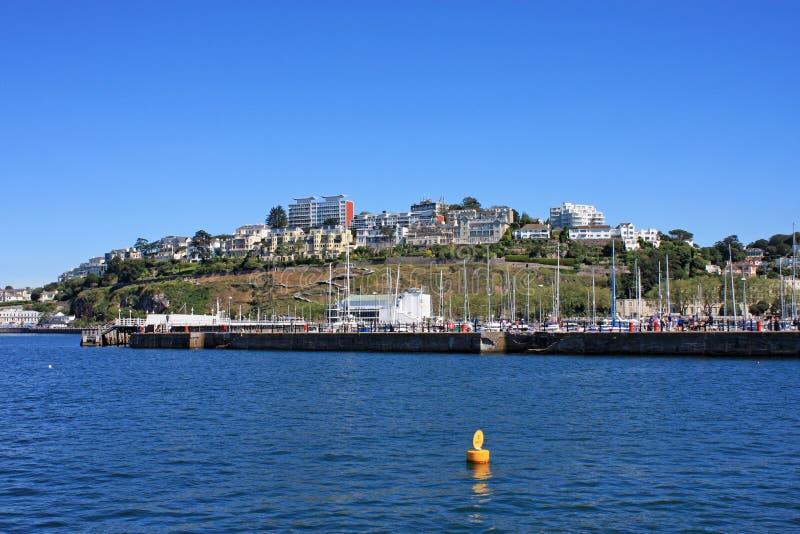 Torquay-Hafen lizenzfreies stockfoto