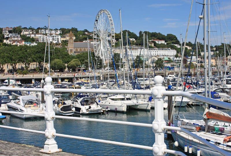 Torquay-Hafen stockfoto