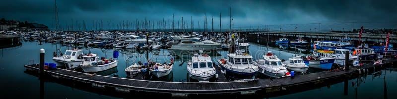 Torquay-Hafen stockfotografie