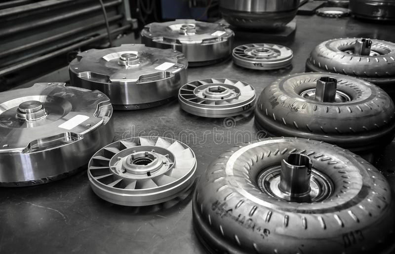 Torque Converter Break Down royalty free stock photography