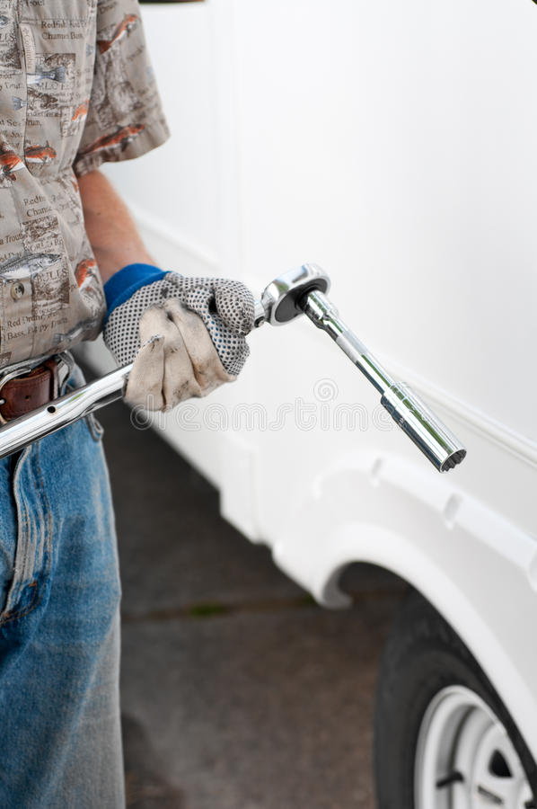 Download Torque Wrench Socket And Extension Stock Photo - Image: 14515504
