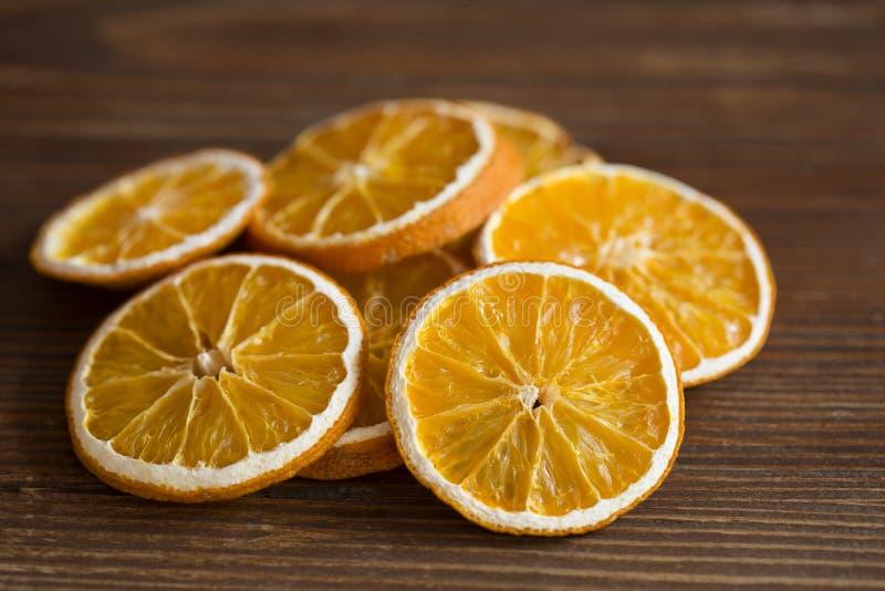 Torr apelsin arkivbild