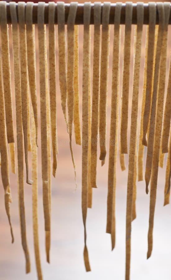 torr pasta arkivfoto