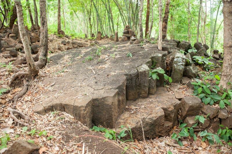 Torra Lava Basaltic Rock Stone arkivbild