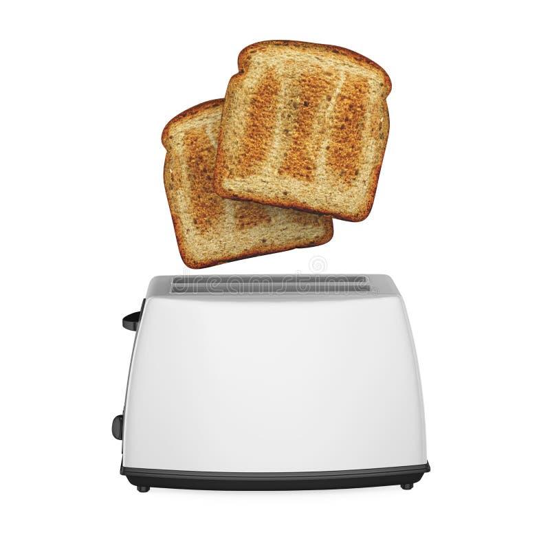 Torradeira do pão isolado ilustração do vetor