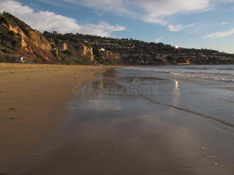 Torrance Beach, Los Angeles, California fotografia stock libera da diritti
