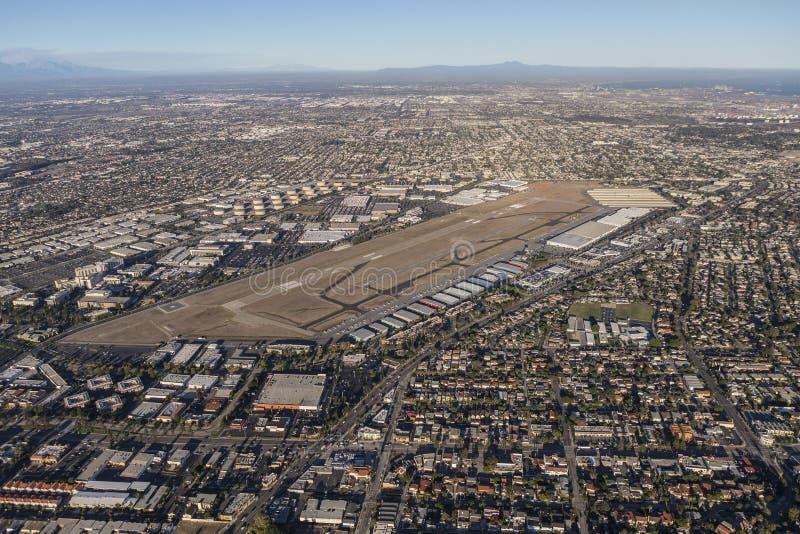 Torrance California Aerial View lizenzfreies stockfoto