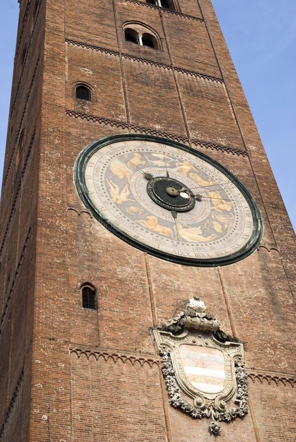 Torrazzo Кремоны стоковое изображение