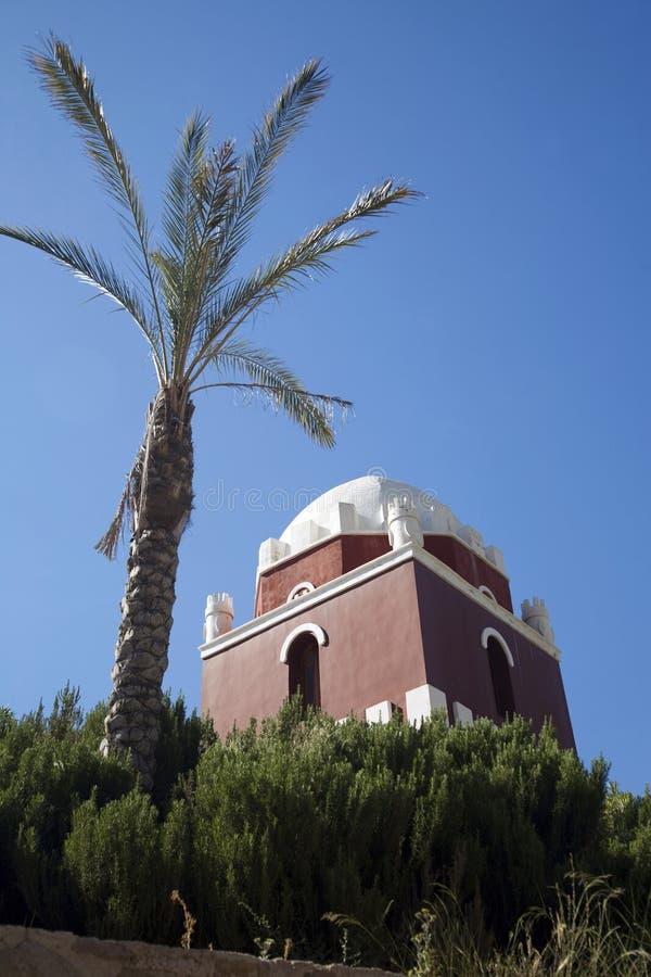 Torre árabe em Murcia foto de stock