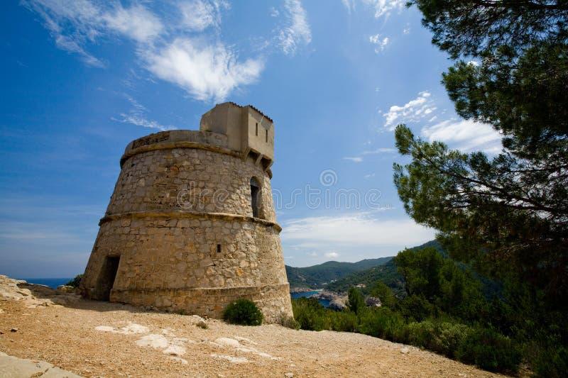 torre моляра ibiza des стоковые фотографии rf