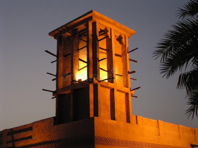 Torre 1 Do Vento (Dubai) Imagem de Stock Royalty Free