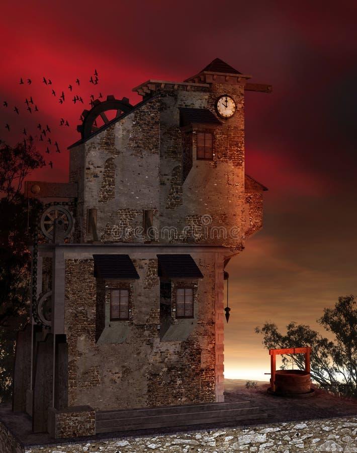 Torre 2 de la fantasía libre illustration