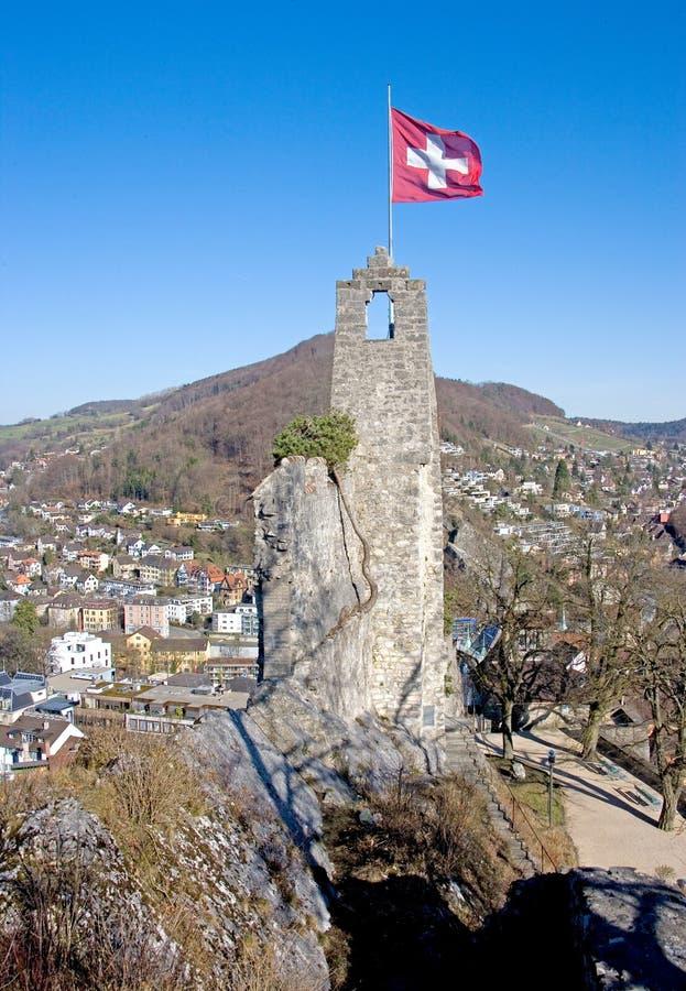 Torre 5 del castillo foto de archivo