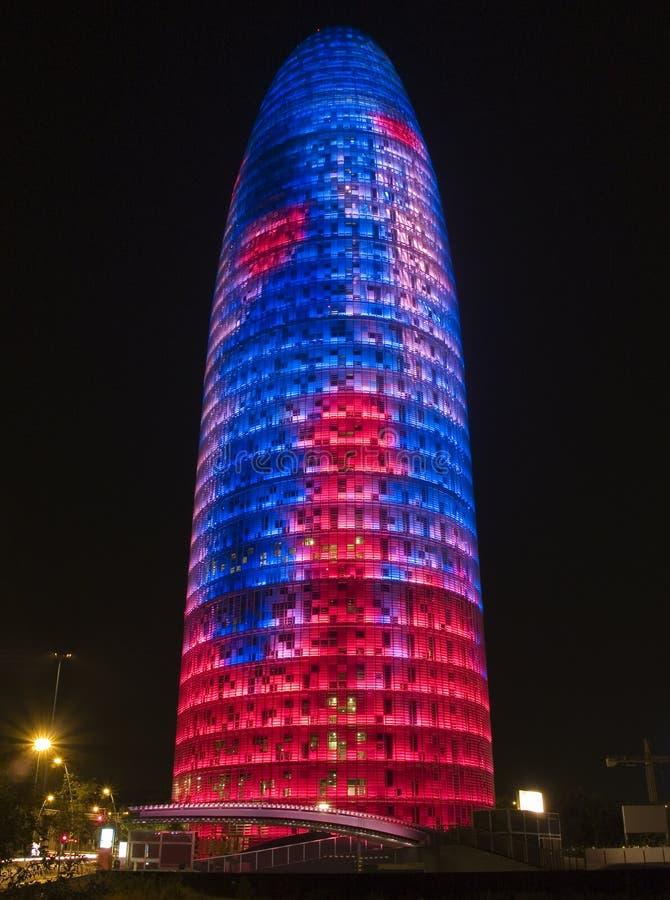 Torre 9 de Agbar imagem de stock