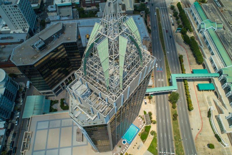 Torre aerea Alabama mobile del centro della Banca di regioni di immagine fotografia stock