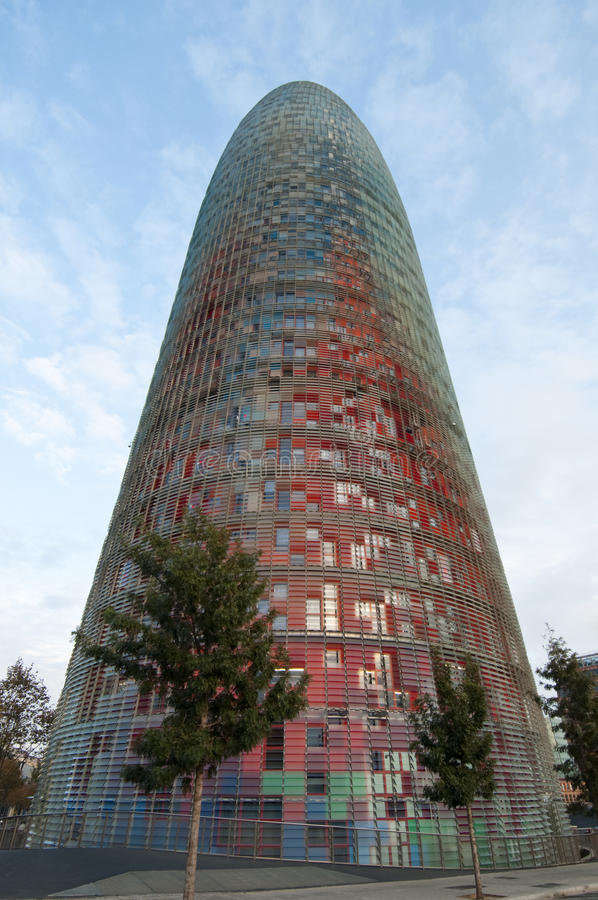 Download Torre Agbar stock image. Image of nouvel, construction - 12405723