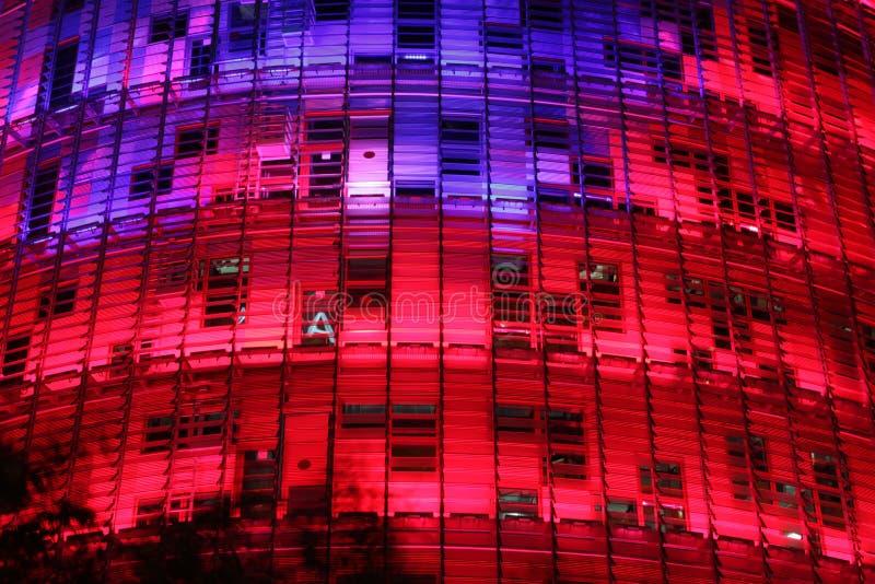 Torre Agbar fotografia stock libera da diritti