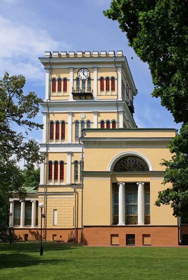 Torre al palazzo in Homiel' immagine stock libera da diritti