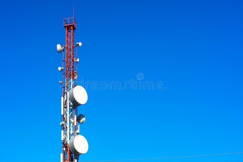 Torre alta do telefone imagem de stock royalty free