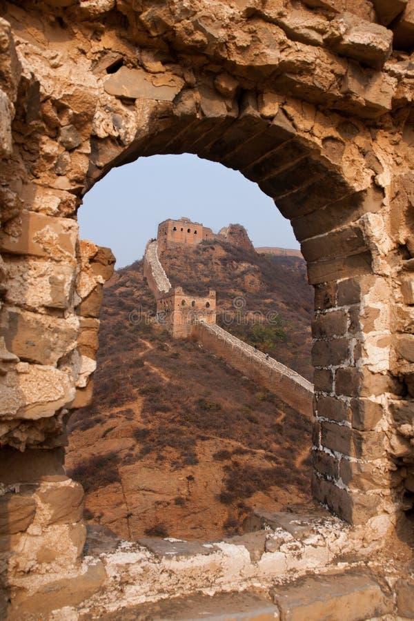 Torre antica dell'orologio, Cina fotografie stock