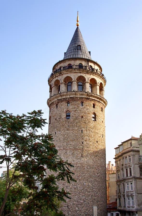 Torre antiga de Istambul fotos de stock royalty free