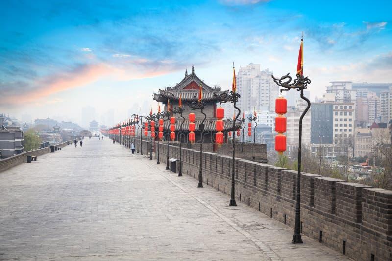 Paisagem de Xian foto de stock