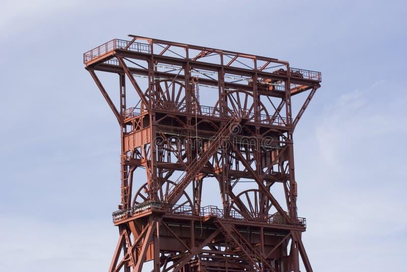 Torre antigua del eje fotos de archivo libres de regalías