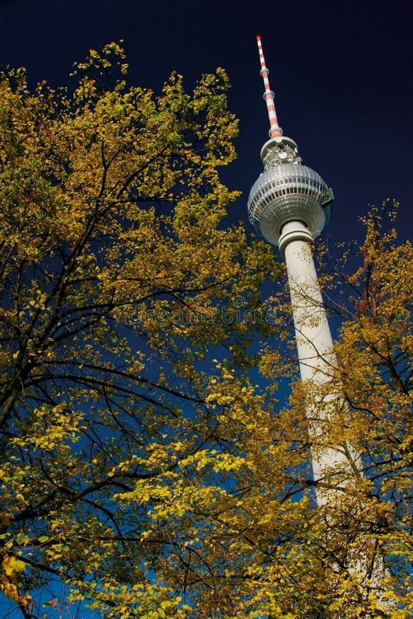 Torre Berlim da tevê foto de stock royalty free