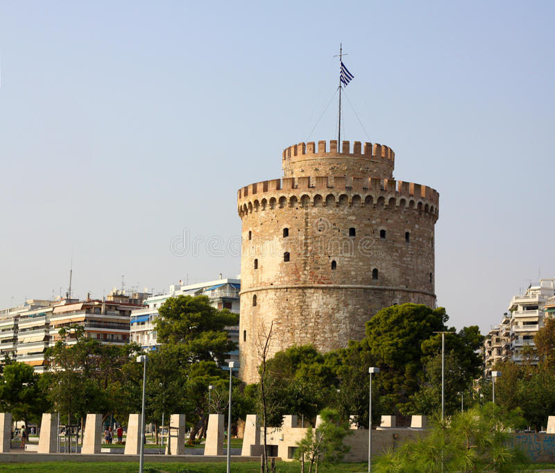 Torre blanca imagenes de archivo