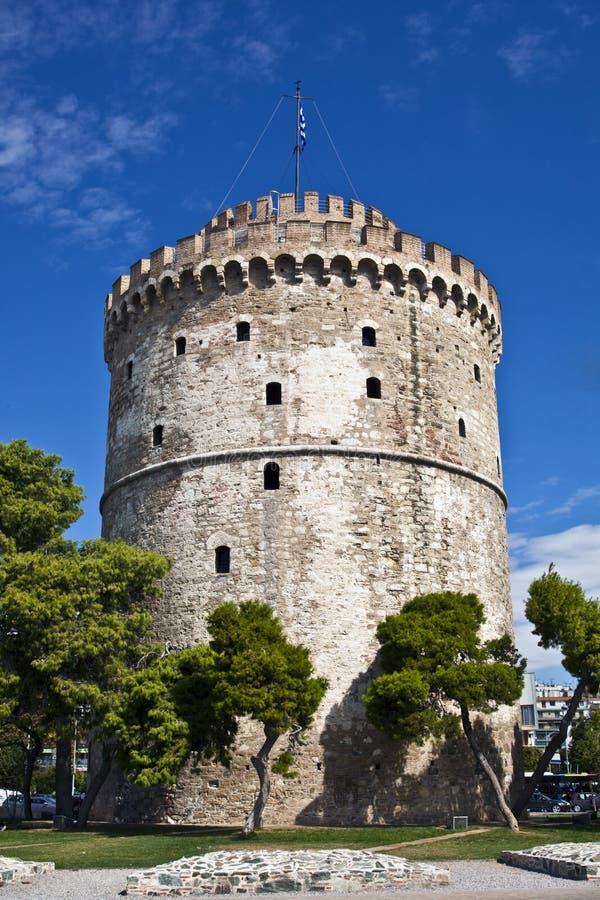 Torre blanca, Salónica, Grecia imagen de archivo