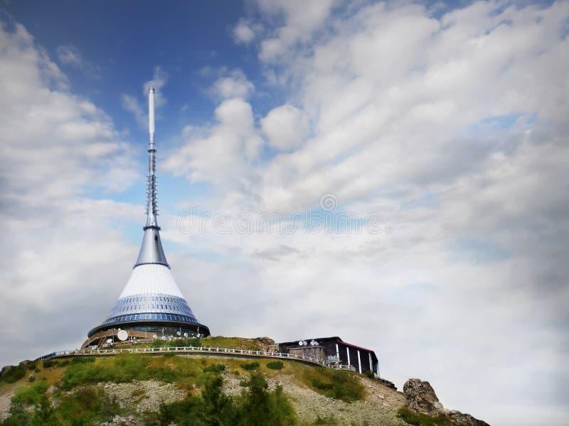 Torre brincada República Checa foto de stock royalty free