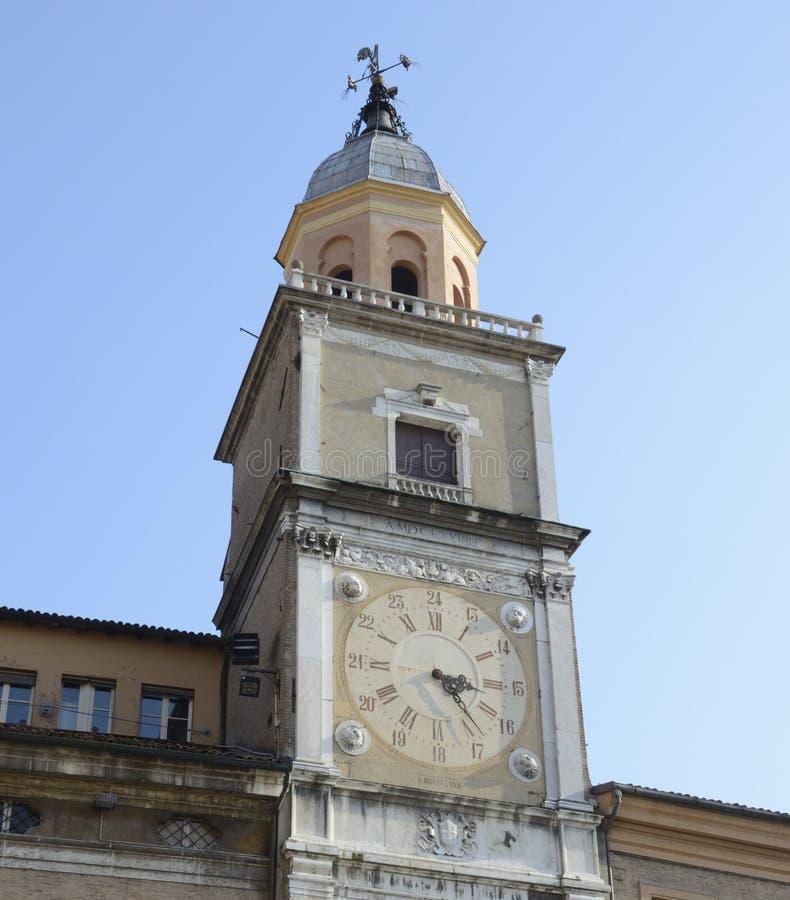 Torre cívica de Modena fotos de stock royalty free
