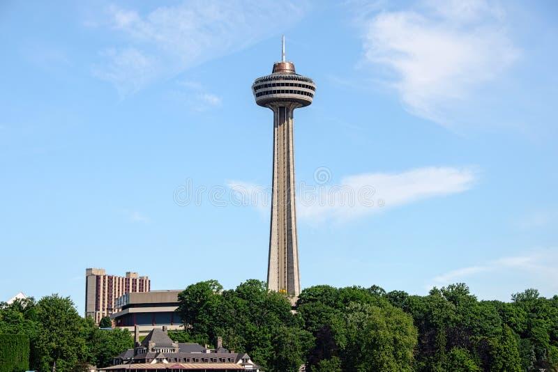 Torre Canadá de Skylon imagem de stock